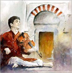 Indialucia XII - violin