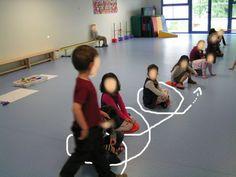 boucle en motricité Gross Motor Activities, Classroom Activities, Learning Activities, Activities For Kids, Social Environment, Sensory Integration, Physical Development, Pre Writing, Educational Programs