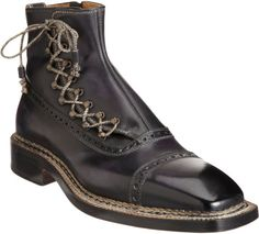 Bettanin & Venturi Laceup Spats Boot
