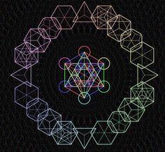 sacred geometry in space