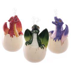 Dragon Egg Incense Holder Fantasy Collectable