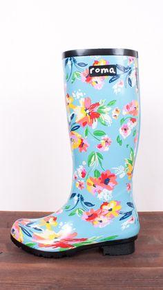 Roma x Sadie Robertson Boots - Floral