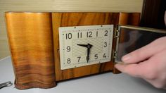 Vintage Striking Clock VLADIMIR USSR BIM_BOM Mantel Clock