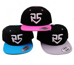 Flatbill Snapback Logo Cap | R5 Rocks I WANT I WANT IT