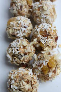 Healthy Bars, Healthy Vegan Snacks, Healthy Sweets, Healthy Baking, Healthy Recipes, Pureed Food Recipes, Snack Recipes, Clean Recipes, Healthy Cookies