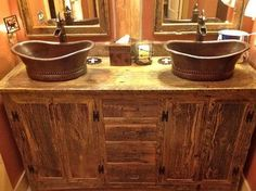Rustic Furniture Portfolio Rustic Bathroom Vanities And Sink Consoles Other Metro Rory S