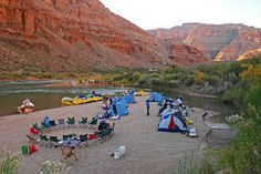 OARS Rafting Trips Grand Canyon- 10 Places Where You Can Sleep on a Beach Slideshow at Frommer's