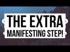 Abraham Hicks ~ Do This Every Time You Are Close To Manifesting! [EXTRA STEP] - YouTube