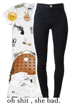 """""""April.18.2K15"""" by khiidamy4502 ❤ liked on Polyvore featuring MCM, Rolex, Married to the Mob and J Brand"""