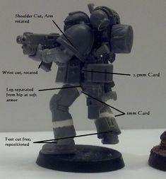 Leave No Model Unconverted: True Scale Space Marines. Tutorial p12 Genestealer Cult p13 Necrons p14 - Page 12 - Forum - DakkaDakka | Please don't feed the trolls!
