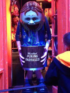 puking pastilles Harry Potter Studios, Carnival, Face, Carnavals, The Face, Faces, Facial