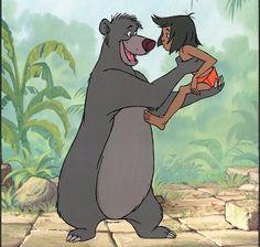 Mowgli and Baloo - The Jungle Book