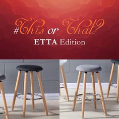 Choose Wisely, So Little Time, Stools, Charcoal, Wood, Instagram Posts, Fabric, Beautiful, Home Decor