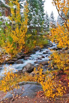 Bishop Creek, Inyo National Forest, Sierra Nevada Mountains, California USA - Copyright © Russ Bishop
