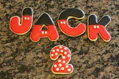 mickey letters