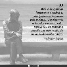 Há 112 anos nascia, em Itabira (MG), Carlos Drummond de Andrade, um dos maiores nomes da literatura brasileira.