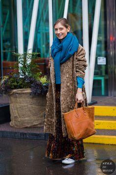 Jenny Walton Street Style Street Fashion Streetsnaps by STYLEDUMONDE Street…