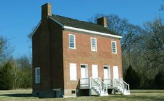 One of the few remaining buildings associated with the old Natchez Trace is the house of ferry operator John Gordon. Natchez Trace, Old Things, River, Mansions, House Styles, Building, Shirt, Top, Manor Houses