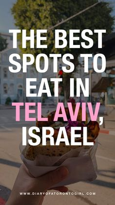 I was incredibly surprised by how incredible the food scene in Israel was. We visited quite a few Tel Aviv restaurants and food spots, and these were our favourites! Travel Advice, Travel Guides, Travel Tips, Bucket List Destinations, Travel Destinations, Best Bucket List, Toronto Girls, Toronto Travel, Food Spot