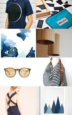 Blue finds by Marylène Chauveau on Etsy--Pinned with TreasuryPin.com