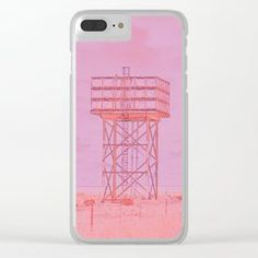 Water tower Clear iPhone Case