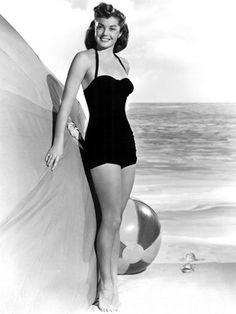 Esther Williams - 1950's retro swimsuit