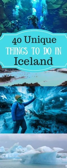 Things To Do In Iceland / Iceland bucket list