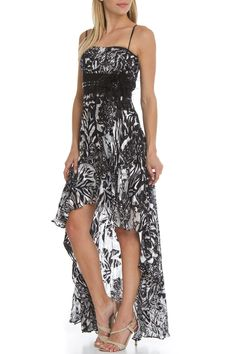 Alyn Rose Designs - Constance Dress in Black and White