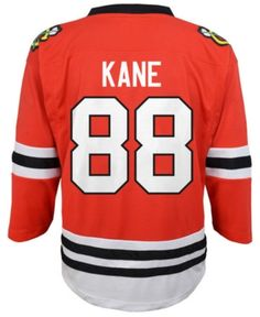 bd588272e69 Authentic Nhl Apparel Patrick Kane Chicago Blackhawks Player Replica  Jersey