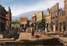 Wild West Town by ranarh