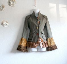 do this to brown jacket!