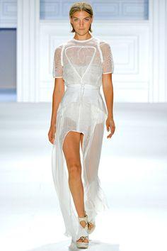 Spring 2012 Ready-to-Wear  Vera Wang