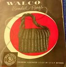 HTF 1940s Walco Crocheted Beaded Bag Purse Pattern Book ROYAL SWAN ZEPHYR - http://crafts.goshoppins.com/needlecrafts-yarn/htf-1940s-walco-crocheted-beaded-bag-purse-pattern-book-royal-swan-zephyr/