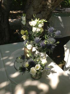 centrotavola con i fiori di campo. matrimonio in Umbria. Italy wedding
