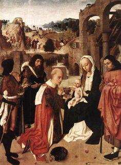 ARTE SACRA - Adorazione magi-Adoration of the Magi