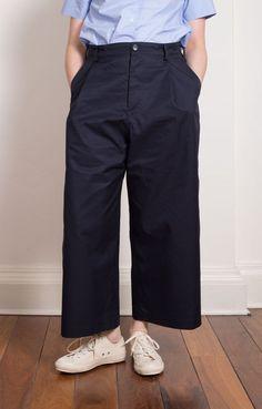 Provence Wide Legged Pants Midnight