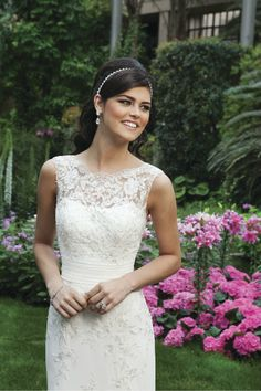 Spring 2013 Wedding Dress Trend: Illusion Neckline  We just launched the Sincerity Spring 2013 collection and we want to bring you the latest wedding dress trends of the season. We'll start off with this season's hottest trend, illusion necklines.    Sincerity Bridal