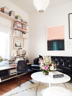 my living room, featured on Pottery Barn's 'Inside & Out'