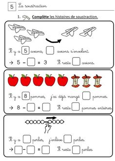 Learning French For Kids, Teaching French, Teaching Kids, Kids Learning, Math Gs, French Language Lessons, French Classroom, Learn French, Fractions