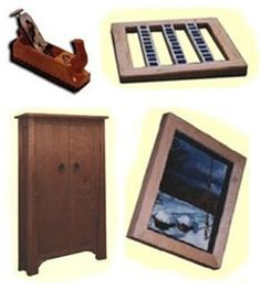 8 Easy, Free, Do It Yourself Project Plans from Amateur Woodworker Magazine - Click through to get started woodworking with these free plans.