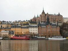 Self-guided walk and walking tour in Stockholm: Södermalm Cultural Walk, Stockholm, Sweden. Get offline map and tour route using our GPSmyCity self-guided walking tours app for your mobile device. Stockholm Travel, Stockholm Sweden, The Places Youll Go, Places To See, Voyage Suede, Europa Tour, Travel Around The World, Around The Worlds, Sweden Travel