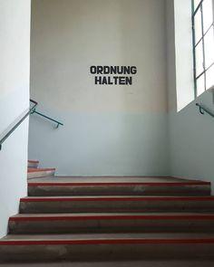'Ordnung halten' - #diefabrik #Gmünd #Waldviertel #Austria #architecture #Eisenbergerfabrik #Ausstellung #architecture #photography #stairs
