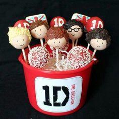 1D cake pops