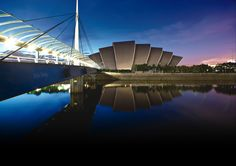 The Clyde Auditorium, also known as the Armadillo in Glasgow, Scotland. (You can buy prints online from them) Places In Scotland, Scotland Travel, Glasgow Scotland, England And Scotland, Buy Prints Online, Vegas, Visit Britain, Glasgow City, Best Cities