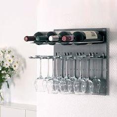 glass u wine rack
