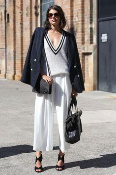 Branco em andamento - Estilo - Vogue Portugal