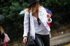 Street Style at London Fashion Week Spring 2014 - London Fashion Week Spring 2014 Street Style, Day 3