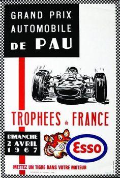 Grand Prix Automobile de Pau - Trophées de France - 1967 -