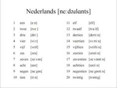 dutch numbers - Google Search