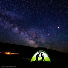 Camping at Sand Mountain Nevada + 11 Unique Things to Do in Fallon NV // http://localadventurer.com